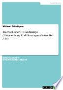 Wechsel einer H7-Glühlampe (Unterweisung Kraftfahrzeugmechatroniker / -in)