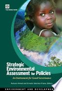 Strategic Environmental Assessment for Policies