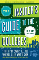 The Insider s Guide to the Colleges  2012