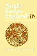 Anglo Saxon England  Volume 36