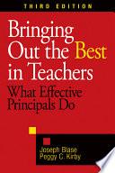 Bringing Out The Best In Teachers Book PDF
