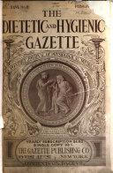 The Dietetic   Hygienic Gazette