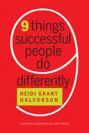 Nine Things Successful People Do Differently [Pdf/ePub] eBook