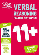 Letts 11+ Success - 11+ Verbal Reasoning Practice Test Papers - Multiple-Choice