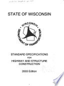 Standard Specifications For Highway And Structure Construction