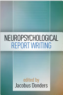 Neuropsychological Report Writing