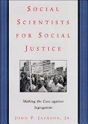 Social Scientists for Social Justice Pdf/ePub eBook