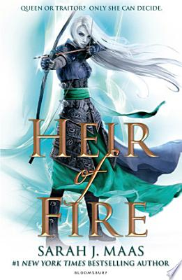Book cover of 'Heir of Fire' by Sarah J. Maas