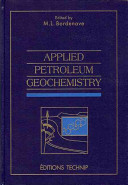 Applied Petroleum Geochemistry