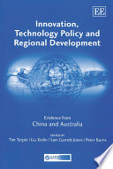 Innovation  Technology Policy and Regional Development