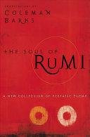 The Soul of Rumi Book PDF