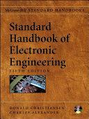 Standard Handbook of Electronic Engineering  5th Edition Book