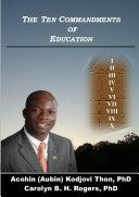 The Ten Commandments of Education