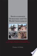 Socio-economic Democracy and the World Government