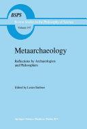 Metaarchaeology