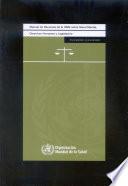 Manual de recursos de la OMS sobre salud mental, derechos humanos y legislación