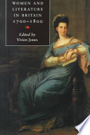 Women and Literature in Britain, 1700-1800