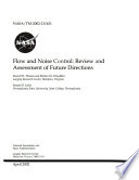 Flow and Noise Control: Review and Assessment of Future Directions