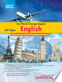 """""""X-Class English Question Bank: Our World Through English"""" by Vikram Books"""