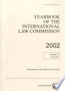 Yearbook of the International Law Commission 2002