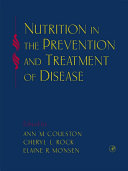 Pdf Nutrition in the Prevention and Treatment of Disease