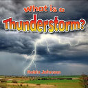 What Is a Thunderstorm? Pdf/ePub eBook