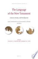 The Language of the New Testament