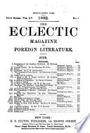 The Eclectic Magazine Of Foreign Literature Science And Art Pdf/ePub eBook