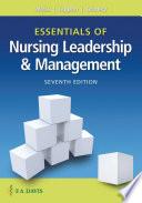 Essentials of Nursing Leadership   Management Book