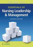 Essentials of Nursing Leadership   Management