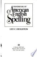 Handbook of American English spelling