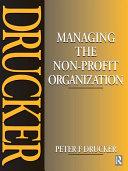 Managing the Non-Profit Organization Pdf/ePub eBook