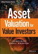 Asset Valuation for Value Investors