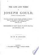 The Life and Times of Joseph Gould