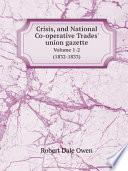 Crisis And National Co Operative Trades Union Gazette