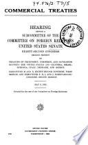 Commercial Treaties