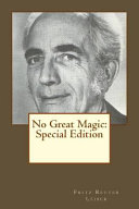 Free No Great Magic Read Online