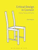 Critical Design in Context