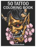 50 Tattoo Coloring Book