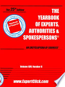 Yearbook of Experts, Authorities & Spokespersons, Vol XXV