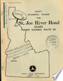 St Joe River Road Forest Route 20 Shoshone County
