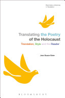 Translating the Poetry of the Holocaust