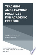 Teaching And Learning Practices For Academic Freedom