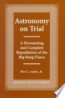 Astronomy On Trial Book PDF