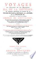 Voyages du sr. A. de La Motraye, en Europe, Asie & Afrique Pdf/ePub eBook