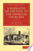 A Narrative of the Visit to the American Churches Book