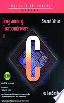 Programming Microcontrollers in C Book