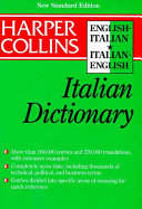 Collins English-Italian, Italian-English Dictionary