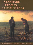 Standard Lesson Commentary 2002 2003