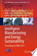 Intelligent Manufacturing and Energy Sustainability